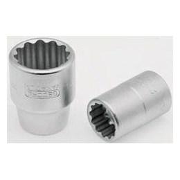 Chave Soquete Estriada 27 mm     Encaixe 3/4 [ 017 005 ] - Gedore