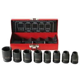 Chave Soquete Jogo 10 a 24mm Encaixe 1/2 Impacto 08Pc Robust