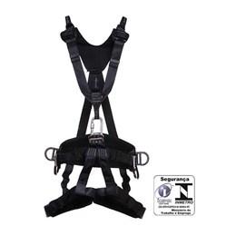 Cinto Paraquedista Abdominal 7 Pontos de Ancoragem com Regulagem Total Engate Rápido [ MULT1270 ] - MG Cinto
