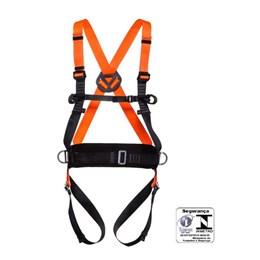 Cinturão Paraquedista Abdominal 4 Pontos de Ancoragem com Regulagem Total Engate Rápido [ MULT2010 ] - MG Cinto
