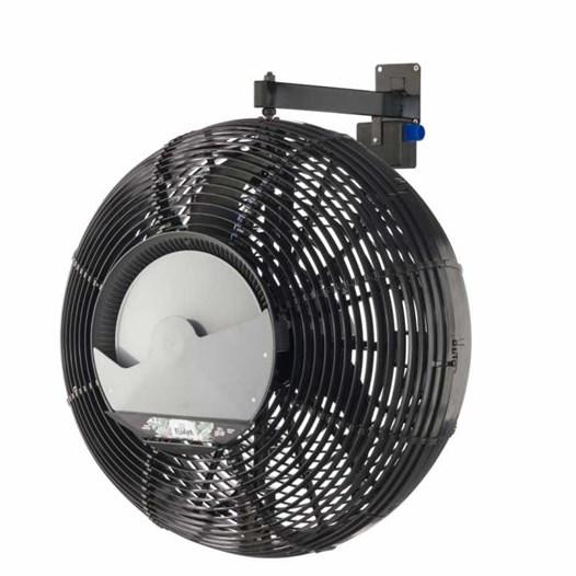 Climatizador Oscilante Parede 70CM Preto [ Floripa ] (220V) - GOAR