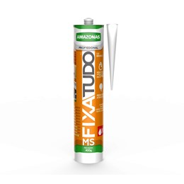 Cola Adesivo Fixa Tudo Ms Branco 400g [ 312363 ] - Amazonas