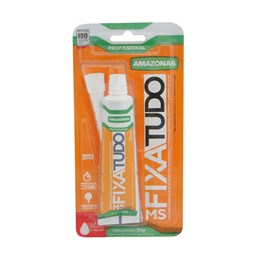 Cola Adesivo Fixa Tudo Ms Branco 85g [ 447510 ] - Amazonas