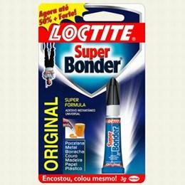 Cola Adesivo Super Bonder Original     3 gr [ 1621047 ] - Loctite