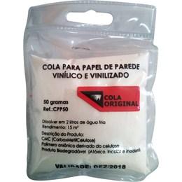 Cola para Papel de Parede em Pó 50G [ CPP50 ] - Plavitec