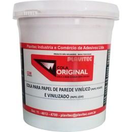 Cola para Papel de Parede Vinílico em Gel 1Kg [ CPP1000] - Plavitec