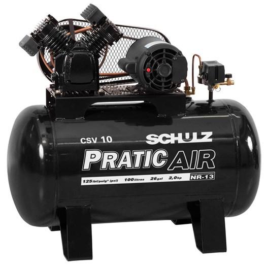 Compressor 10/100 125Lbf Csv Monofásico Pratic Air [ 921.3543-0 ] (220V) - Schulz
