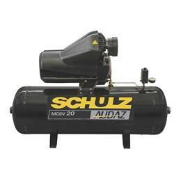 Compressor 20/200 175Lbf MSCV Trifásico Audaz [ 922.9304-0 ] (220/380V) - Schulz