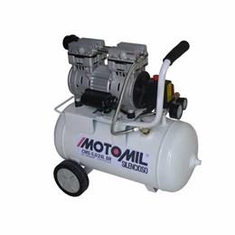 Compressor Odontologico CMS  5/24 120LB Monofasico 220V Isento de Oleo [ 39250.4 ] - Motomil