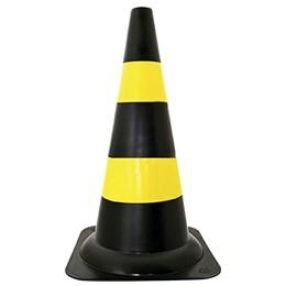Cone de Segurança Amarelo/Preto 70cm [ WPS1917 ] - Delta Plus