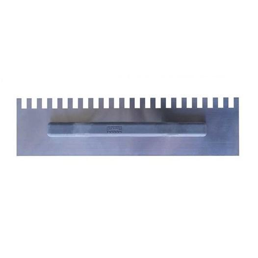 Desempenadeira de Aço Dentada 11 X 26 cm [ 325 ] - Flextools