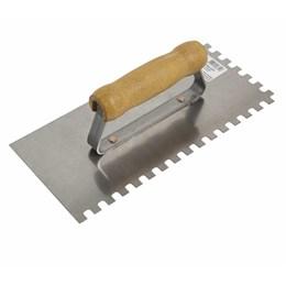Desempenadeira de Aço Dentada 12 X 25,6 cm [ 60700 ] - Cortag