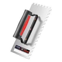 Desempenadeira de Aço Dentada 12 X 25 cm [ AT145 ] - Atlas