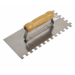 Desempenadeira de Aço Dentada 12 X 26 cm [ 60904 ] - Cortag