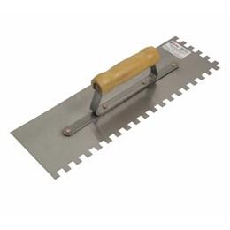 Desempenadeira de Aço Dentada 12 X 38 cm [ 60564 ] - Cortag