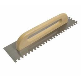 Desempenadeira de Aço Dentada 12 X 48 cm [ 60704 ] - Cortag