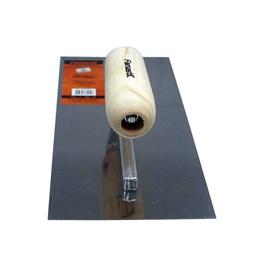 Desempenadeira de Aço Inox Lisa 13 X 28 cm [ 1384 ] - Famastil (FL)