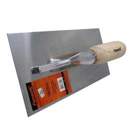 Desempenadeira de Aço Inox Lisa 13 X 28 cm Famastil