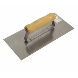 Desempenadeira de Aço Lisa 12 X 25,6 cm [ 60701 ] - Cortag