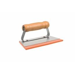 Desempenadeira de Aço Lisa 8,5 x 19,2 CM para Rejunte [ 60880 ] - Cortag