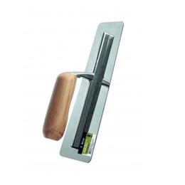 Desempenadeira de Inox Lisa 10 X 25 cm para efeitos [ AT113 ] - Atlas
