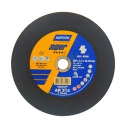"Disco Corte 10"" 250 X 25.4 3.2mm 2T Metal [ AR 312 SUPER ] - Norton"