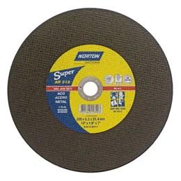 "Disco Corte 12"" 300 X 25.4 3.2mm 2T Metal [ AR 312 SUPER ] - Norton"