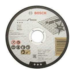 Disco Corte  4.1/2 115 X 22.2  1.0mm 2T Inox Standard [ 2608603169 ] - Bosch