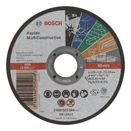 Disco Corte  4.1/2 115 X 22.2  1.0mm 2T Multimaterial Expert [ 2608602384 ] - Bosch