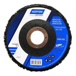 """Disco de Limpeza 4.1/2 x 7/8"""" para Inox [ 69957314437 ] - Norton"""