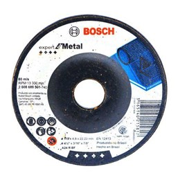 Disco Desbaste 4.1/2 115 X 22.2  4.8mm Metal Expert [ 2608600501 ] - Bosch