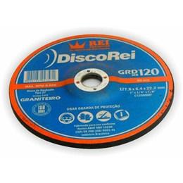 """Disco Desbaste 7"""" 178 X 22.2 6.4mm Graniteiro [ 2357 ] - Rei Abrasivos"""