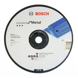"Disco Desbaste 9"" 230 X 22.2 6.0mm Metal Standard [ 2608603184 ] - Bosch"