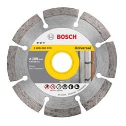 Disco Diamantado 105 Seco/Refrigerado Segmentado [ 2608603674 ] - Bosch