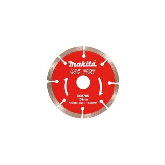 Disco Diamantado 105 X 20 mm Segmentado Concreto Mak-Fast [ D-08785 ] - Makita