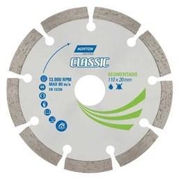 Disco Diamantado 110 Classic Segmentado [ 70184693465 ] - Norton