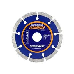 Disco Diamantado 110 Seco Segmentado [ 1122837 ] - Heavy Duty