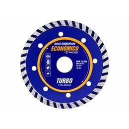 Disco Diamantado 110 Seco Turbo [ 122836 ] - Heavy Duty