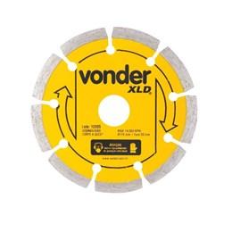 Disco Diamantado 110 Segmentado Seco XLD [ 1268700000 ] - Vonder