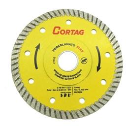 Disco Diamantado 115 4.1/2 Turbo Porcelanato Flex  Cortag