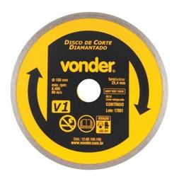 Disco Diamantado 180 Refrigerado Contínuo [ 1268100180 ] - Vonder