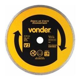 Disco Diamantado 230mm V1 [ 12.68.100.230 ] - Vonder