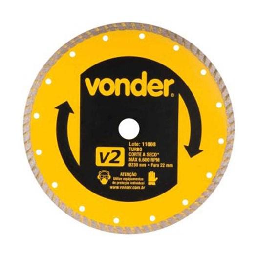 Disco Diamantado 230mm V2 Turbo [ 12.68.230.000 ] - Vonder