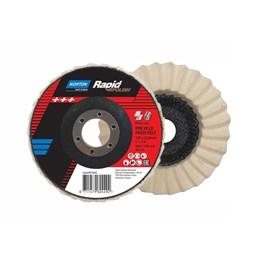 Disco Flap 4.1/2 115 X 22.2 Feltro para Polimento [ 66254481899 ] - Norton