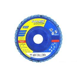 Disco Flap 4.1/2 115 X 22.2  G- 80 Reto Inox [ 66623313733 ] - Norton