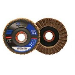 Disco Flap 4.1/2 115 X 22.2  Grosso Reto Inox Vortex [ 66261122500 ] - Norton