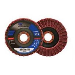 Disco Flap 4.1/2 115 X 22.2  Médio Reto Inox Vortex [ 66261122503 ] - Norton