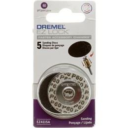 Disco Lixa G 60 Ez Lock             5Und [ 2615E411AB ] - Dremel