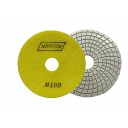 Disco Polimento Diamantado 50mm Úmido Grão 100 Flexível [ 70184643177 ] - Norton
