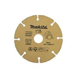 Disco Tungstênio 110 4.3/8 Madeira/Plástico [ B-40668 ] - Makita